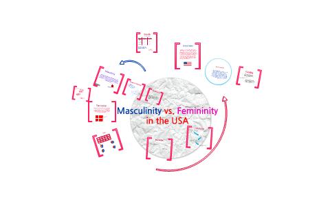 Masculinity VS Femininity in the United States by Jillian