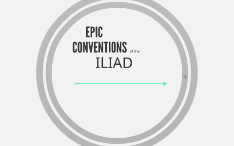 define epic conventions