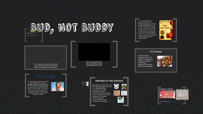 Bud Not Buddy By Megan Kuipers On Prezi