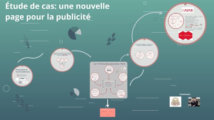 Etude De Cas Une Nouvelle Page Pour La Publicite By Lisa Marie On Prezi