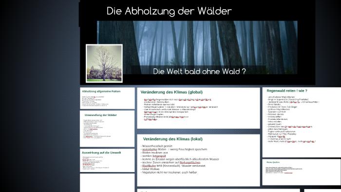Die Abholzung Der Walder By Bella Muller On Prezi