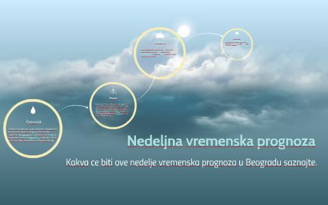 Nedeljna Vremenska Prognoza By Katarina Rajković On Prezi