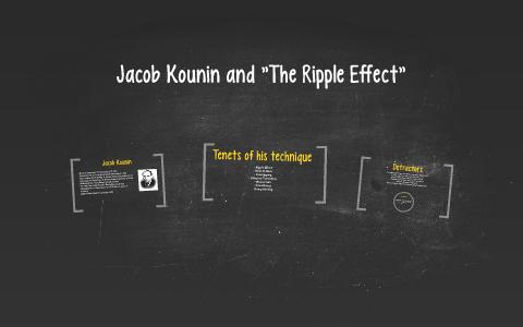 jacob kounin ripple effect