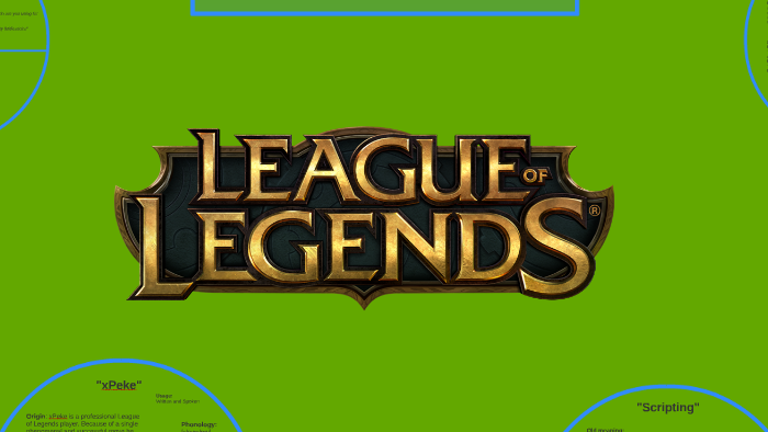 The Language of League of Legends by Tyler Hebert on Prezi
