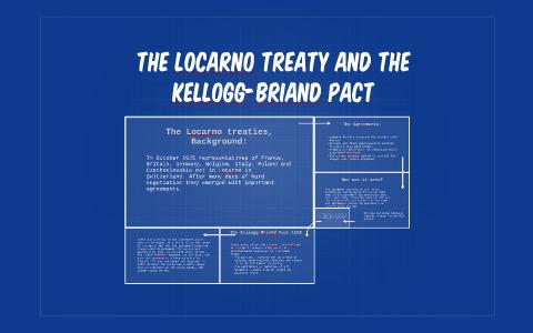 The Locarno Treaty And The Kellogg Briand Pact By Amber Osborn On Prezi