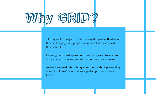 Grid Drawing For 6th Grade By Lindsey Foushee On Prezi