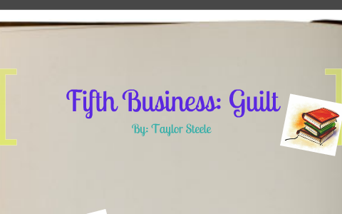 guilt in fifth business
