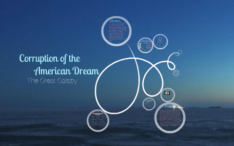 Corruption Of The American Dream Great Gatsby By Amanda Simone On  Corruption Of The American Dream Great Gatsby By Amanda Simone On Prezi