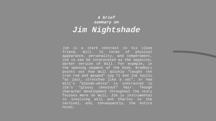 jim nightshade