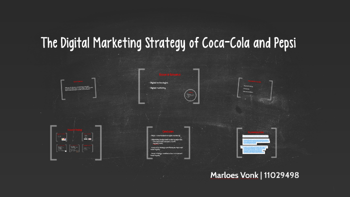 The Digital Marketing Strategy of Coca-Cola and Pepsi by
