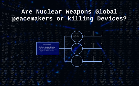 essay on are nuclear weapons global peacemakers or killing devices