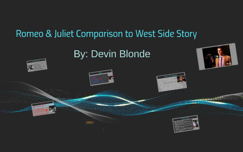 west side story romeo and juliet comparison