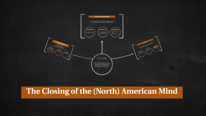 the closing of the north american mind