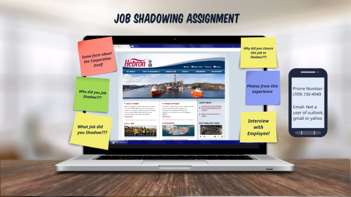Job Shadowing Assignment 2017 by Rikki Earle on Prezi Next