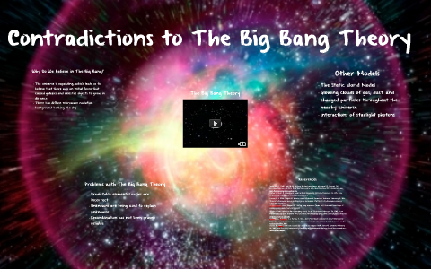 Contradictions To The Big Bang Theory By Emily Weinschreider