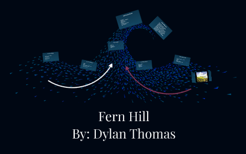 examples of personification in fern hill