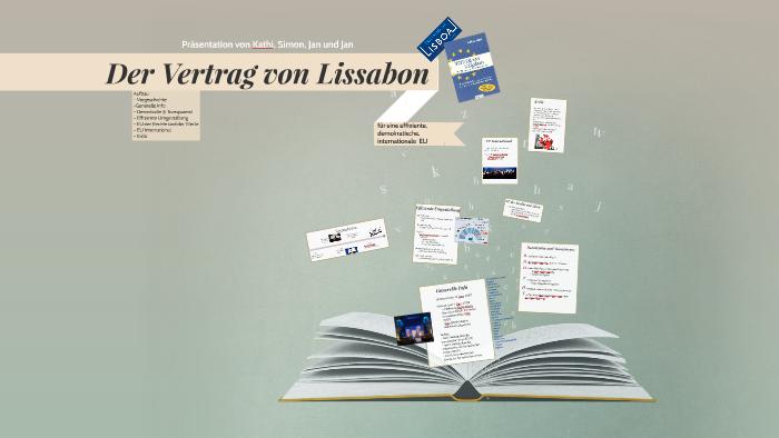 Der Vertrag Von Lissabon By Jan Hiersemann On Prezi