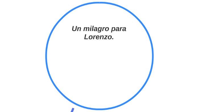 Un Milagro Para Lorenzo By Juliana Acosta