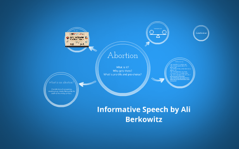 informative speech outline on abortion