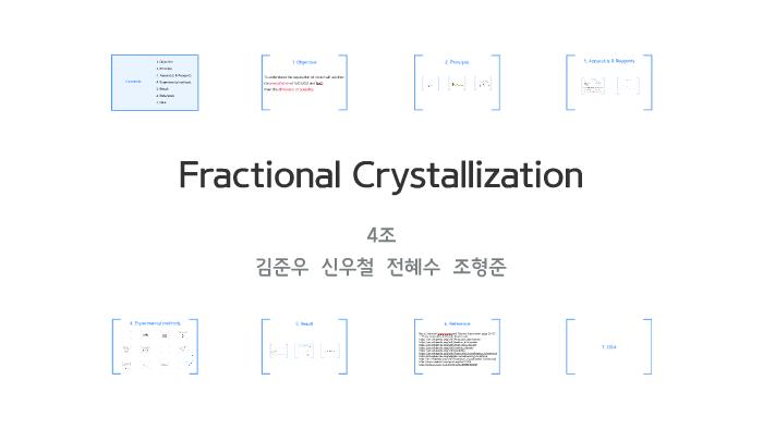 fractional crystallization lab