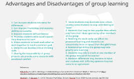 Advantages And Disadvantages Of Group Learning By Kaitlin Scott