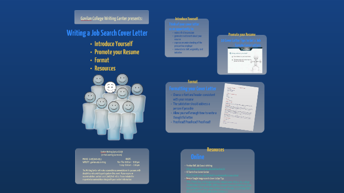 Writing a Job Search Cover Letter by Mary Lastra on Prezi
