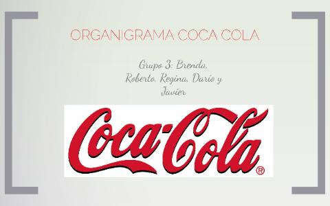 Organigrama De La Empresa Coca Cola