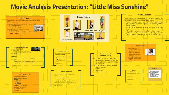 little miss sunshine analysis