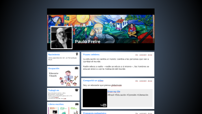 Paulo Freire By Camila Ortiz On Prezi