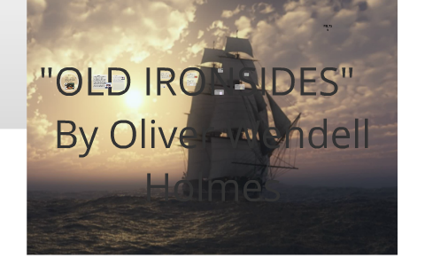 old ironsides poem meaning