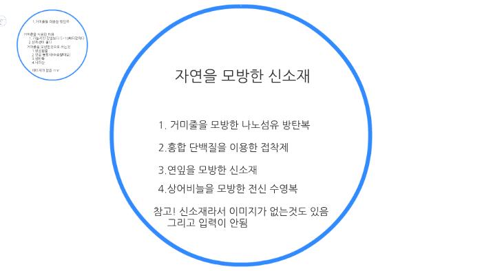 3c5e59b89ea 자연을 모방한 신소재 by 민규 황 on Prezi