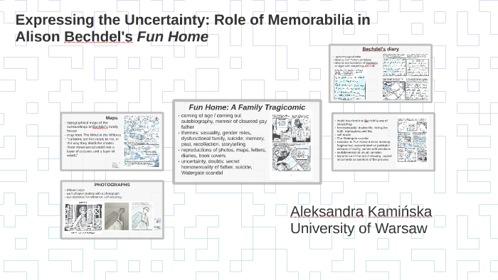 Expressing the Uncertainty: Role of Memorabilia in Alison