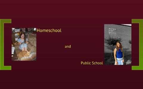 thesis statement homeschooling vs public schooling
