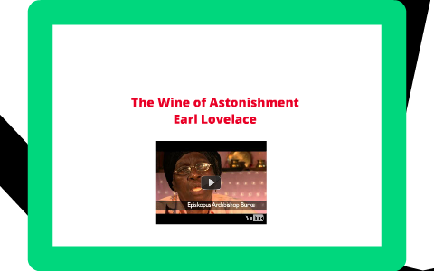 the wine of astonishment notes