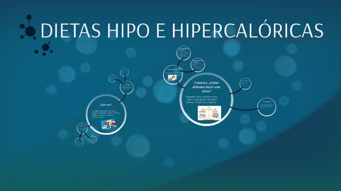 dietas hipocaloricas e hipercaloricas