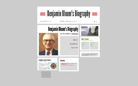 benjamin bloom biography