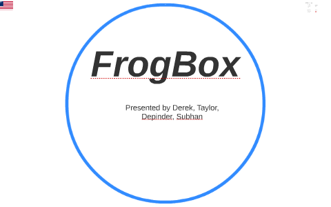 frogbox business plan