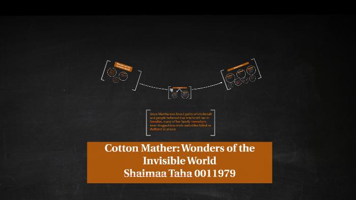 cotton mather summary