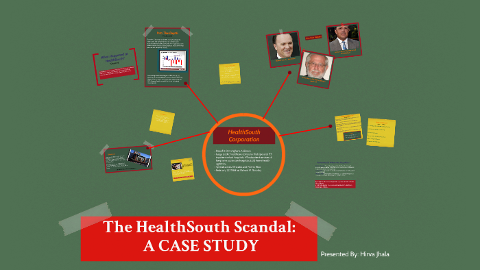 healthsouth scandal impact