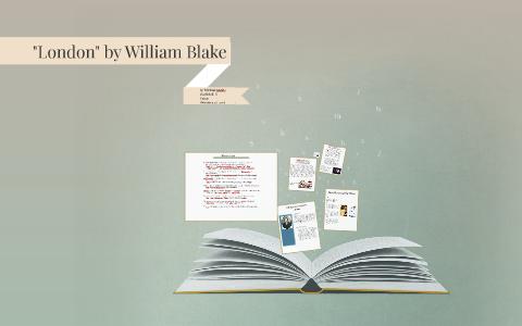metaphors in the poem london by william blake