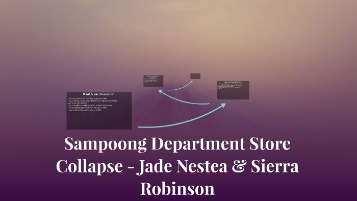 Sampoong Department Store Collapse - Jade Nestea &