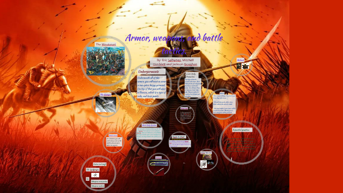 Armor, weapons, and battle tactics for Samurai by eric salhaney on Prezi