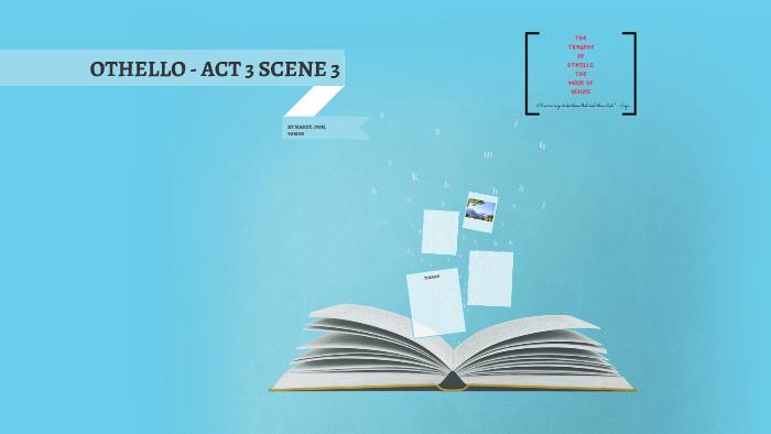 othello act 3 scene 3 text
