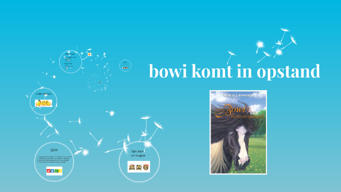 bowi komt in opstand