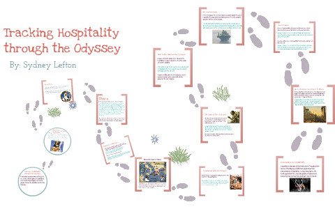how is hospitality shown in the odyssey