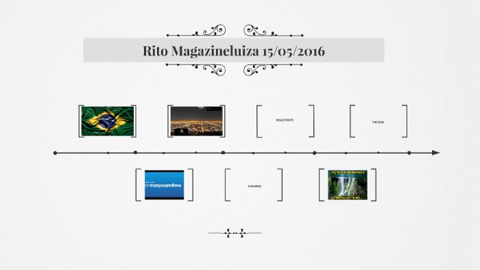 Rito Magazineluiza 15 05 2016 By Nilson Xavier On Prezi