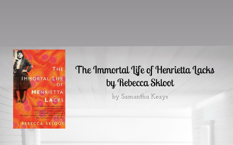 setting of the immortal life of henrietta lacks