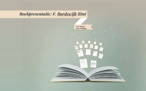 Boek Bint By Joep On Prezi