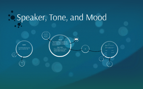 speaker, tone, and mood by joshua ho on prezi