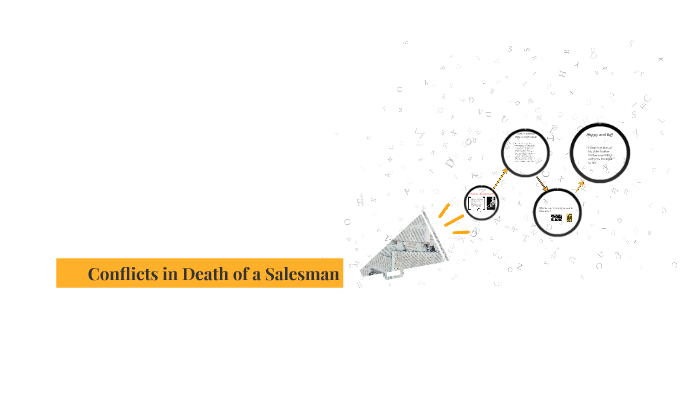 theme and conflict in death of a salesman
